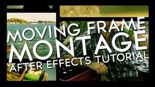 Verschieben von Frames Montage - Adobe After Effects tutorial