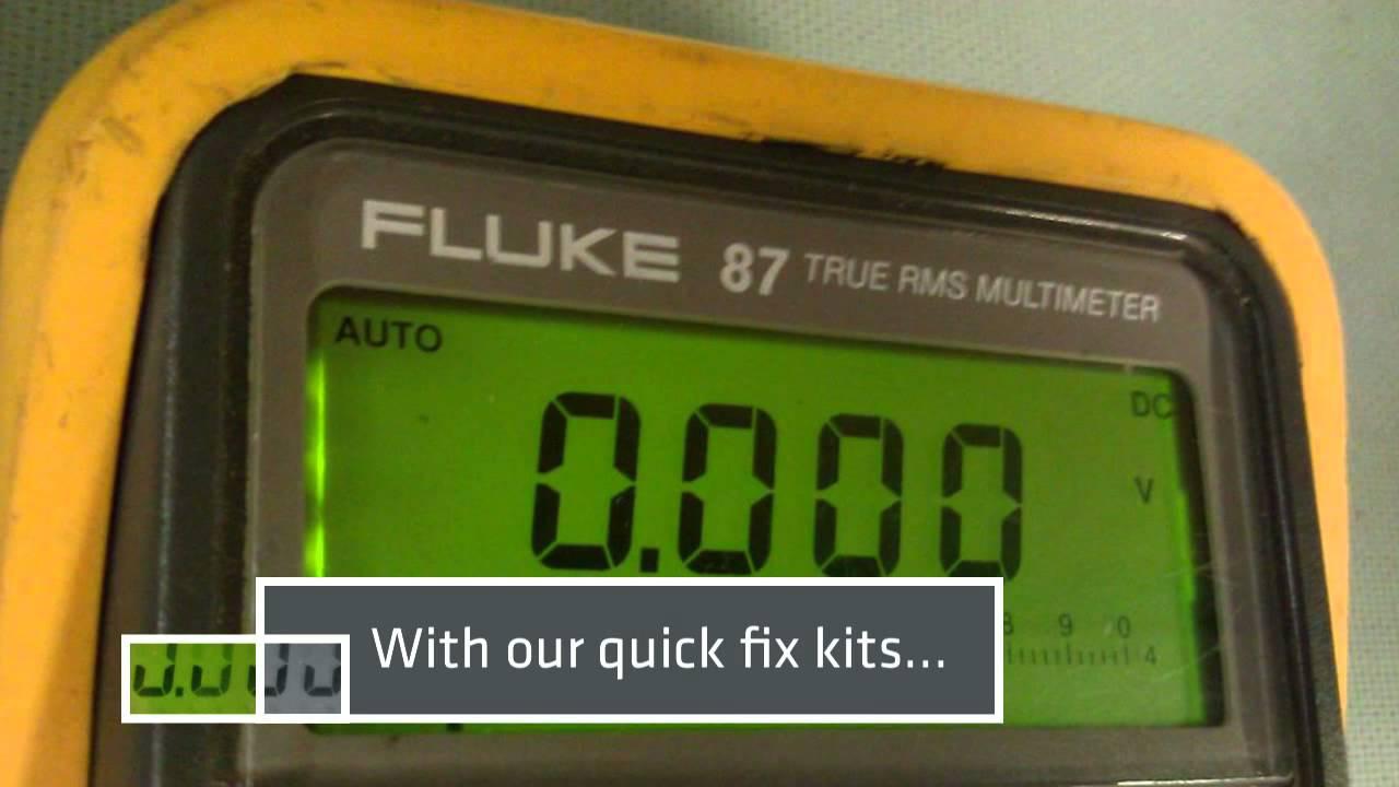 how to fix digital watch display