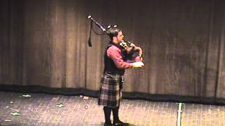 Andrew Douglas Bagpipe Solo - Celtic Evening, Rome NY, April 2007