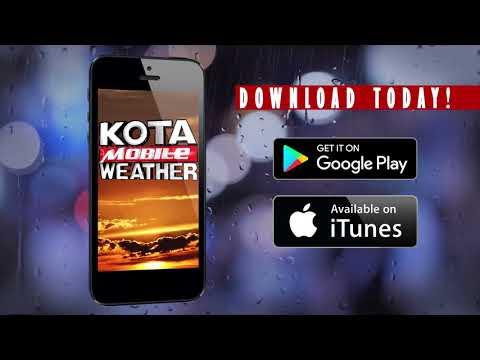 KOTA Weather App RAIN 20