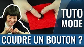 Retrouvez l'article sur le site madmoiZelle.com : http://www.madmoizelle.com/coudre-bouton-video-784241 Recevez chaque jour à 18h le meilleur de ...
