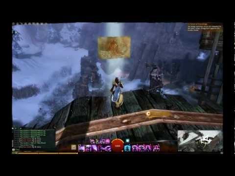 Guild Wars 2 Black Earth Coalmine Vista Point/Dociu Excavation Vista Point (Dredgehaunt Cliffs)