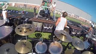 Pacific Crest 2018 Drum Set Cam