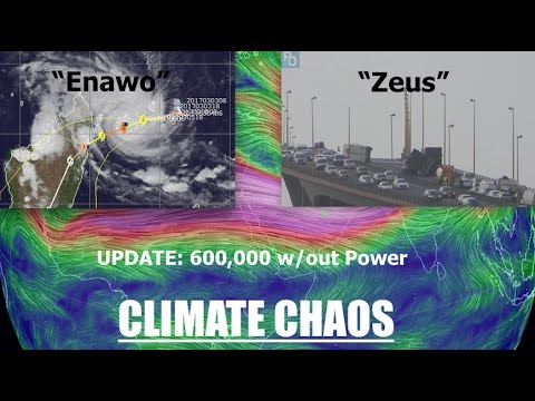 "*Climate Chaos* | ""Freak Storm"" pounds France 