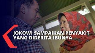 Gambar cover Presiden Joko Widodo: Ibu Sudah 4 Tahun Berjuang Lawan Kanker