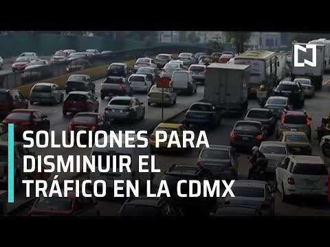 Soluciones para disminuir el tráfico en la CDMX - Fractal