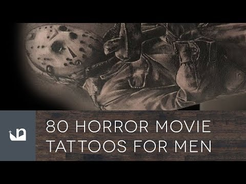 80 Horror Movie Tattoos For Men