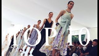 Top 10 Models   Spring & Summer 2018   Most Walked Shows