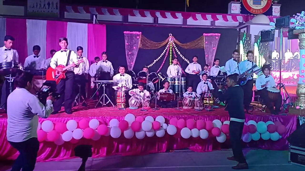 Oddessey 2018 St Lawrence School Unnao Orchestra You