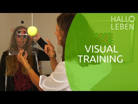 Visual Training bei Sehproblemen