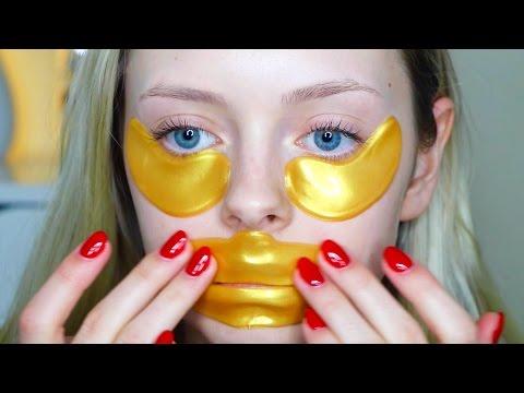 Do These Work? 24K Gold Eye & Lip Mask