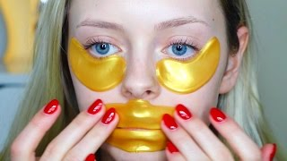 Do These Work? 24K Gold Eye & Lip Mask