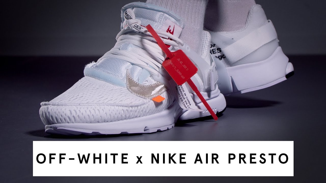the best attitude 74aad 9a886 OFF-WHITE x Nike Air Presto (white)   Review