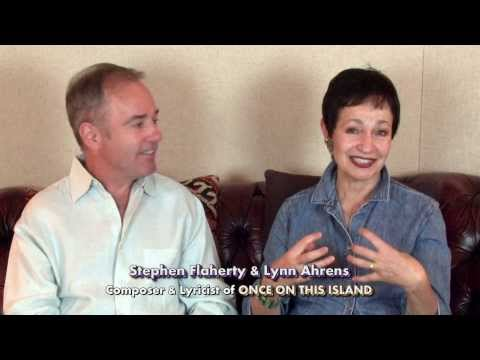 Ahrens & Flaherty Interview: ONCE ON THIS ISLAND Overview