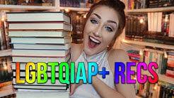 LGBTQIAP+ BOOK RECOMMENDATIONS.