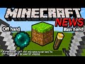 Minecraft 1.9 News Dual Wielding Explained, 1.8.7 Update, Useless 2nd Sword, Pocket Edition 0.11