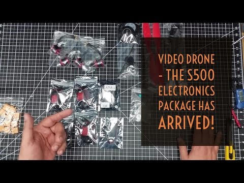 Video Drone - The S500 Electronics Package Has Arrived!