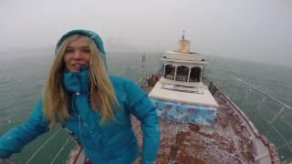 Аренда яхты в Сочи - выходим в море в снег г. Сочи(, 2016-09-17T16:19:44.000Z)