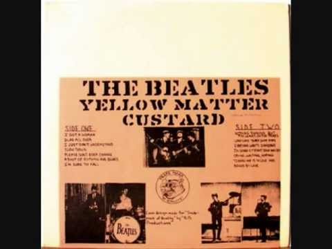 John Lennon's reaction to an early Beatles Bootleg LP: Yellow Matter Custard