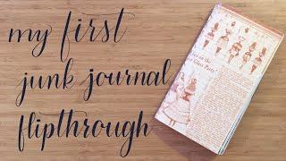 Flip Through | My First Junk Journal