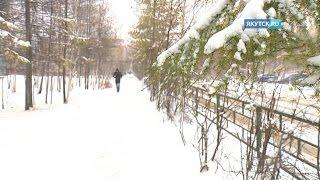 видео погода мирный якутия