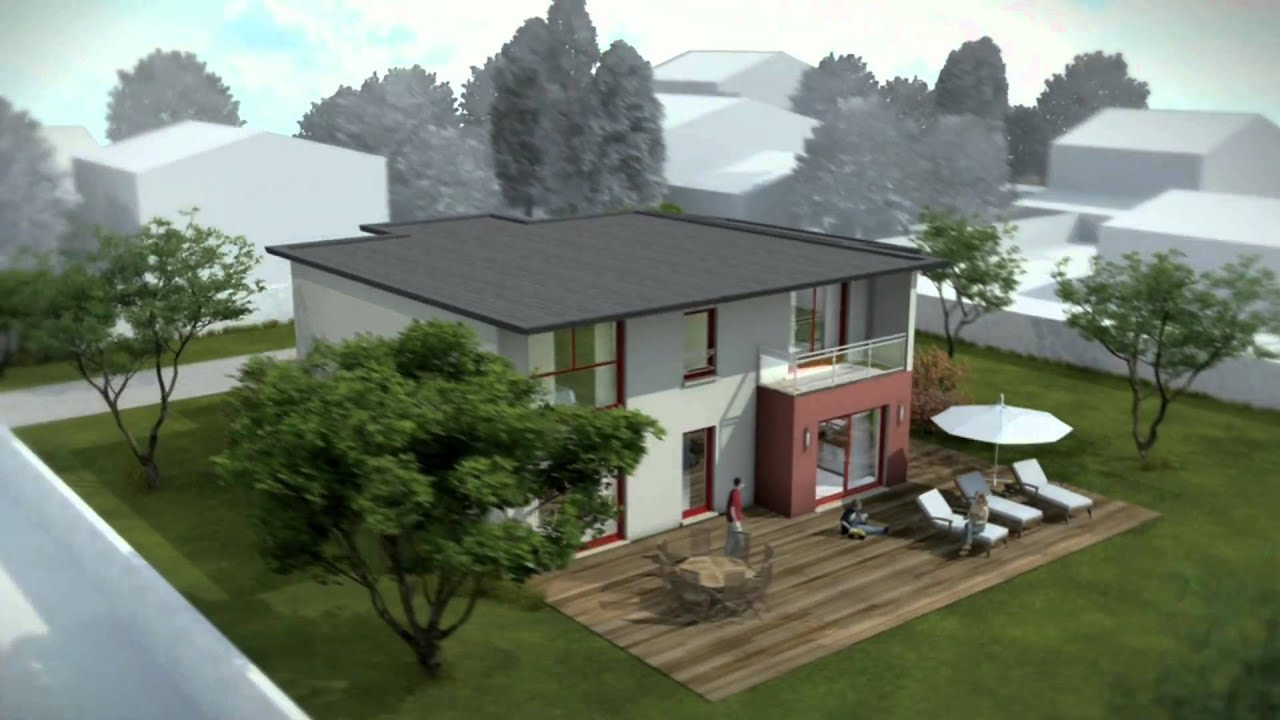 Constructeur de maison design youtube for Architecture maison style americain