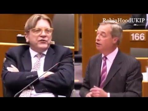 Nigel Farage mocking Belgium again
