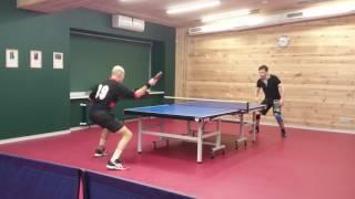 Любительский турнир по настольному теннису RC Nonpro Tour 24.12.16 встреча за 1 место,  сет 3