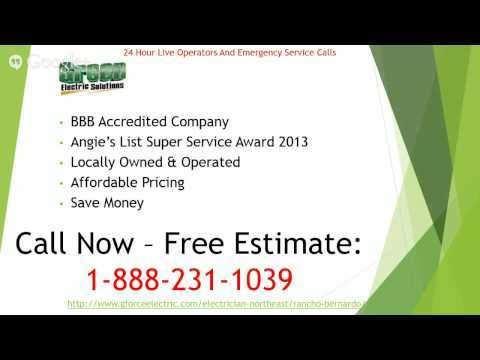 Thumbnail for Now Servicing Lemon Grove, Spring Valley, Lakeside, and Rancho Bernardo for Electrical repair services!
