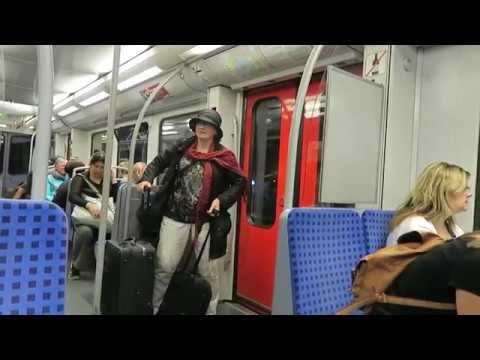 Hamburg S-Bahn Ride: Hamburg Airport to Hauptbahnhof 15 August 2018