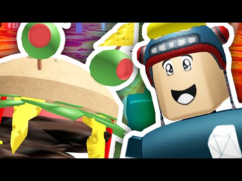 Thumbnail: ESCAPE THE GIANT BURGER!! | Roblox