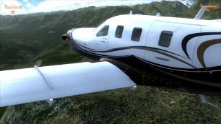 Realistic FSX, Mountain Flying, Darrington Muni to Stewart