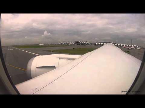 Norwegian flight DY7210 (Bangkok - Copenhagen) B787 Dreamliner