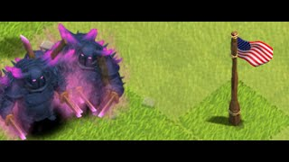 Clash of Clans ATTACK - Unlimited donation from clan bross! Huge pack of PEKKA!