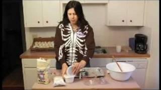How to Make Sugar Skulls : Dry Ingredients for Making Sugar Skulls