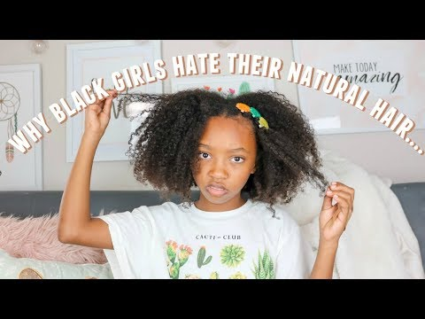 The truth about growing up as a BLACK girl with NATURAL hair…