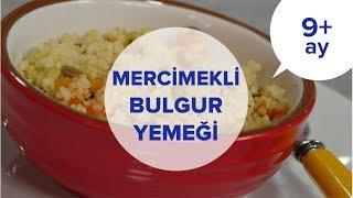 Mercimekli Bulgur Pilavı - Balkabaklı & Havuçlu (9 Ay +) | İki Anne Bir Mutfak