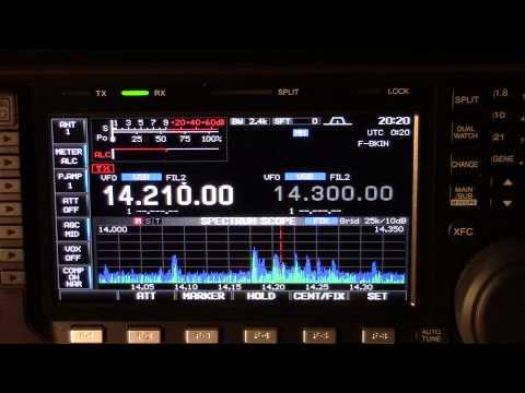 This is a ham radio pileup. V55JOTA