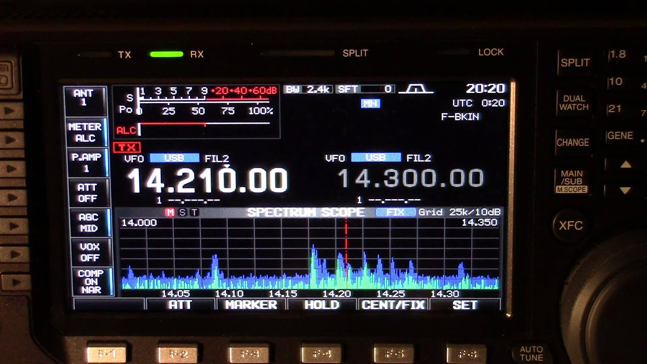This Is A Ham Radio Pileup V55jota Youtube