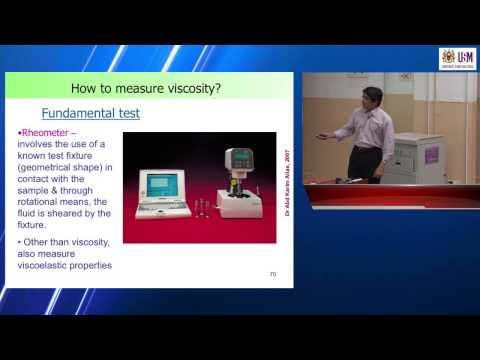 IMK209: Lecture 2 (1st October 2012)— Rheological Properties of Food