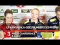 Press conference: LP Kangasala - SSC Palmberg Schwerin, 8.2.2017