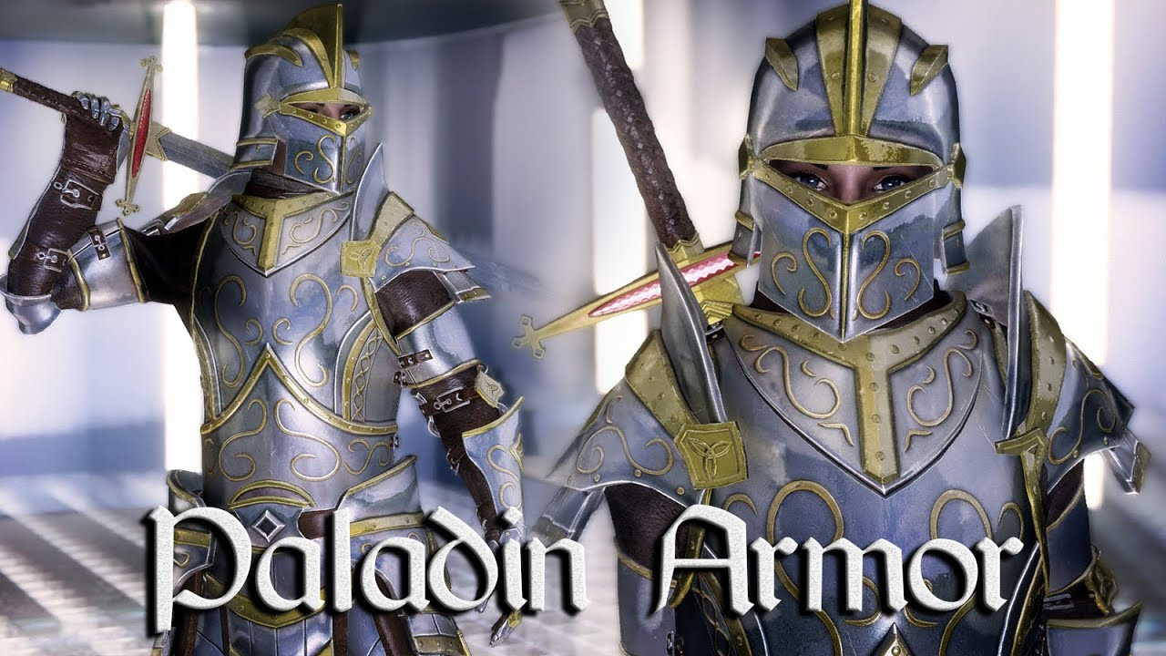 Skyrim mods paladin armor youtube publicscrutiny Gallery