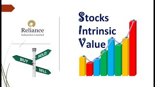 Reliance Industries Intrinsic Value - Fair Value || क्या है सही भाव || Buy Sell Hold ||