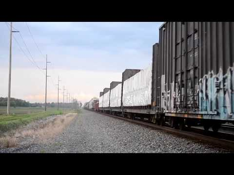 Trains of Ohio on the busy Main Sub Chicago Toledo Line