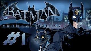 Batman: Arkham Origins Gameplay / Playthrough w/ SSoHPKC Part 1 - I Suck at Batman Games