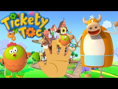 Tickety Toc Finger Family Songs
