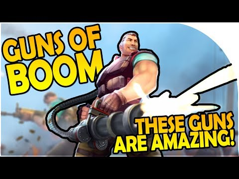 GUNS OF BOOM - THESE WEAPONS ARE AMAZING! - Guns of Boom Tips + Gameplay!
