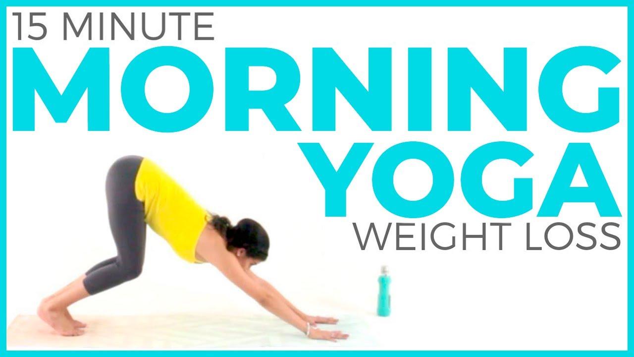 Morning Yoga For Weight Loss 🔥(15 minute Yoga) Fat Burning Yoga Workout |  Sarah Beth Yoga