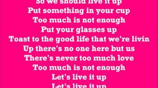 Live It Up Karaoke / Instrumental Tulisa ft Tyga