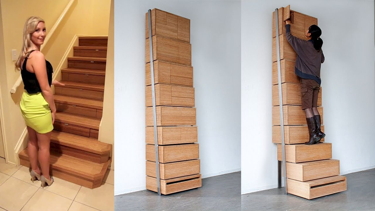 IT LOOKS LIKE SOME REGULAR STAIRS FROM THE OUTSIDE, BUT YOU WON'T BELIEVE WHAT'S INSIDE IT
